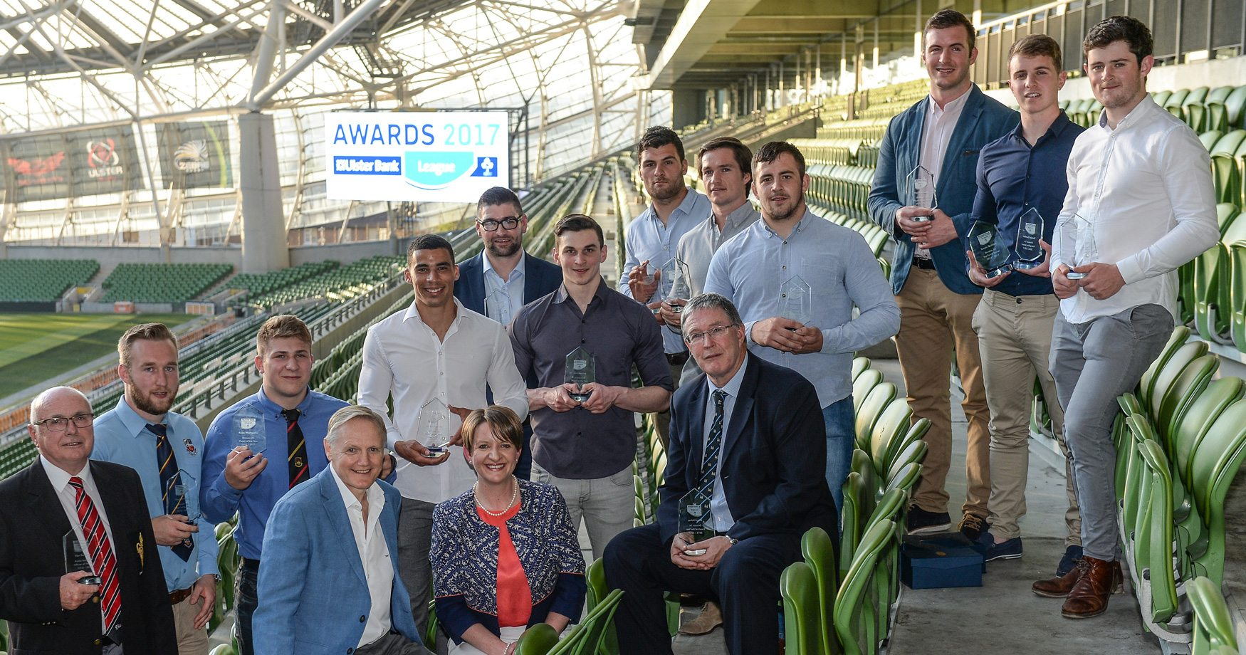 Club Rugby Stars Honoured at Annual Ulster Bank League Awards