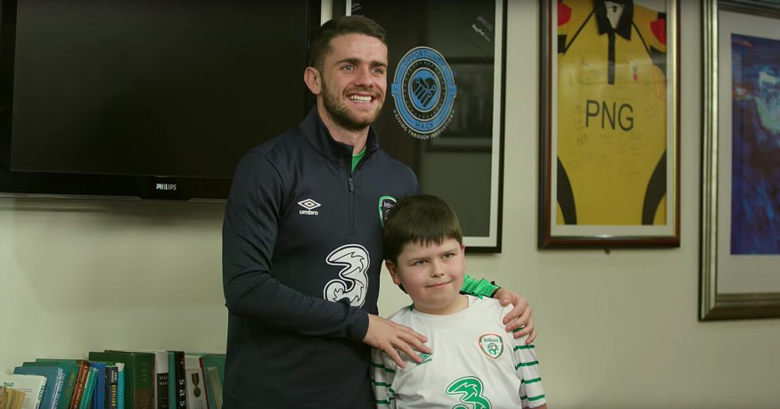 Robbie Brady The Call Up